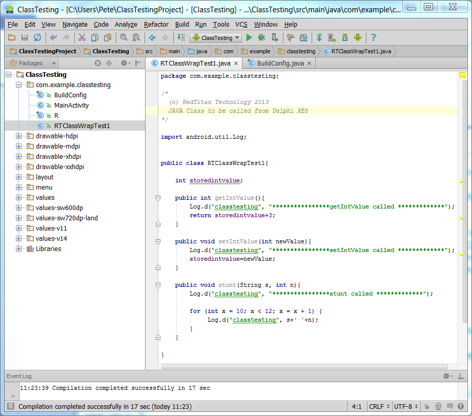 compile java code to apk