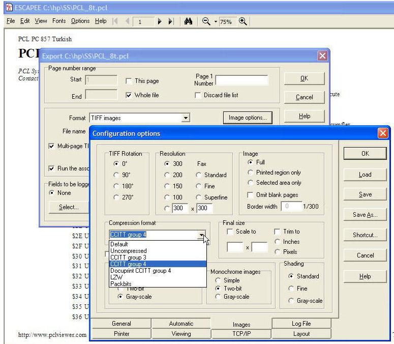 imagemagick convert pdf to tiff compression